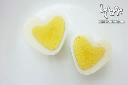 چطور تخم مرغ قلبی درست کنیم