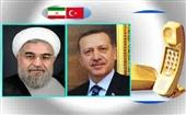 اظهارات روحانی در تماس تلفنی اردوغان؛ تاکید بر صلح و آرامش در منطقه