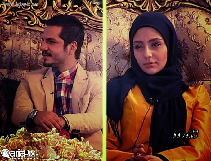 عکسهای جدید هستی مهدوی و عباس غزالی در زنده رود