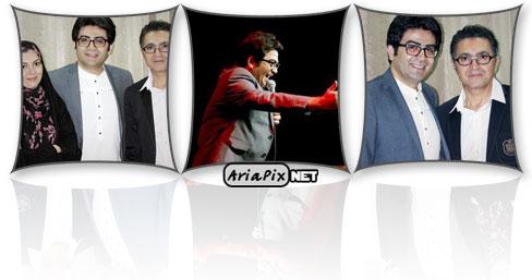 عکسهای جدید فرزاد حسنی و آزاده نامداری در کنسرت فریدون آسرایی