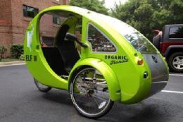 ابداع خودرو-دوچرخه خورشیدی