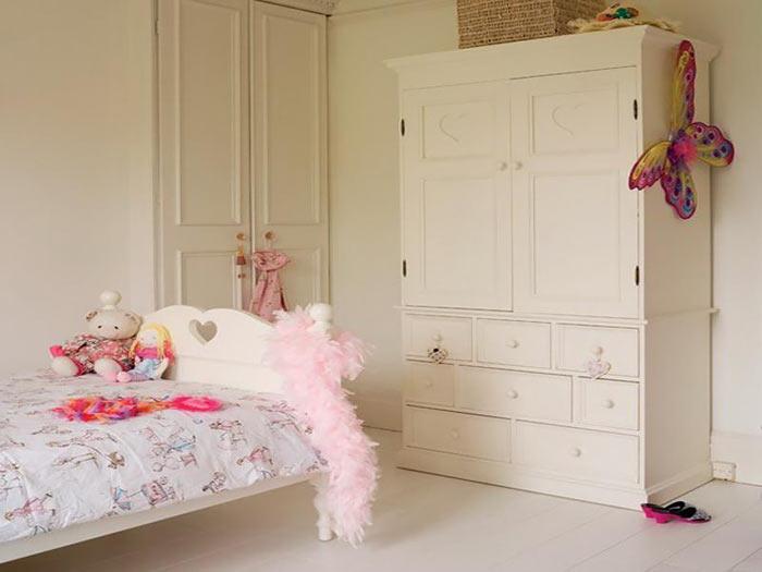 زیـباترین مدلهای دکوراسیـون اتاق خواب دختـرانه