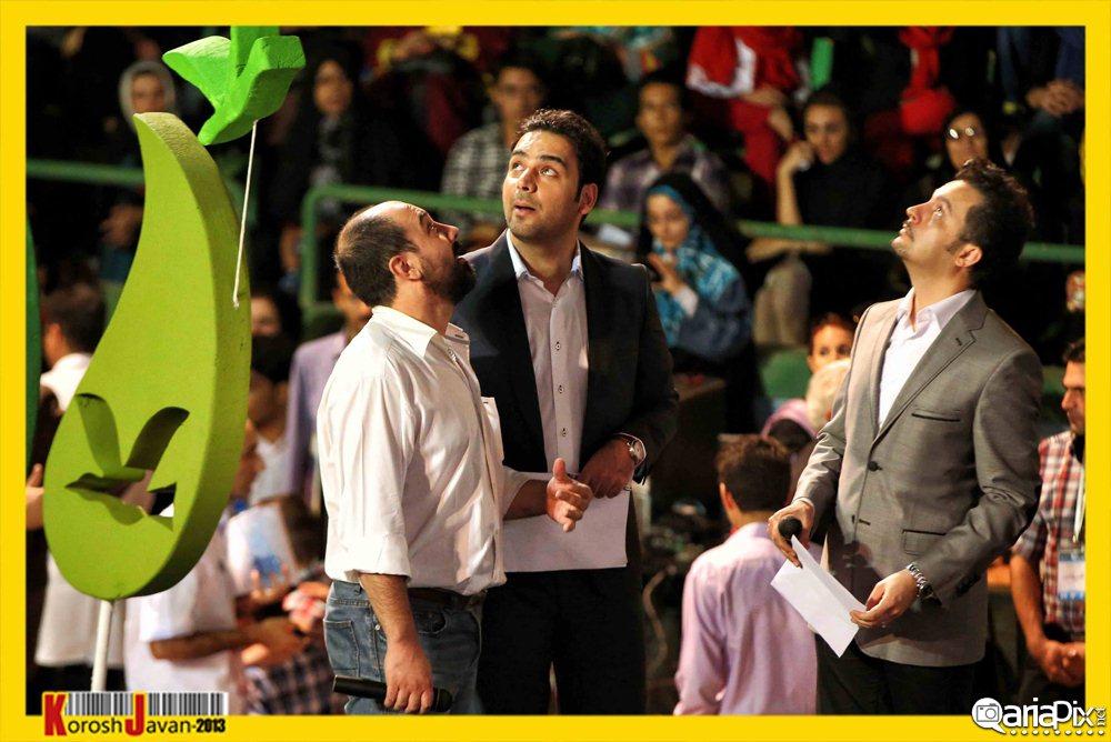 محمد سلوکی,احسان علیخانی و برزو ارجمند در جشن نفس 92