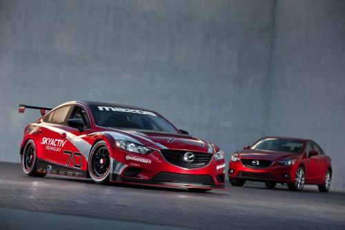 Mazda6 SkyActiv-D racecar