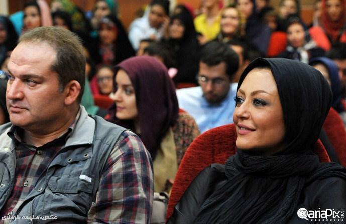 شقایق فراهانی و مهدی سلطانی / مراسم تقدیر از سریال مادرانه