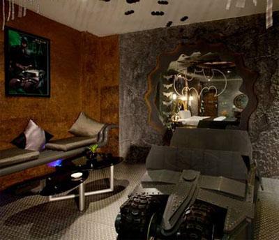 عکس اتاق بتمن, اتاق های هتل بهشت
