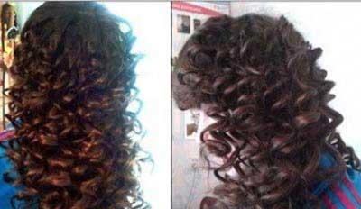 فر کردن موها, موهای فر زیبا
