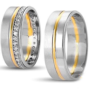 حلقه ازدواج-حلقه نامزدی-ست حلقه ازدواج