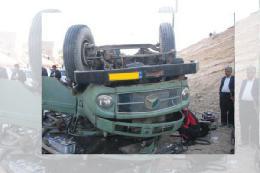 تصادف زنجیرهای در اتوبان زنجان - قزوین