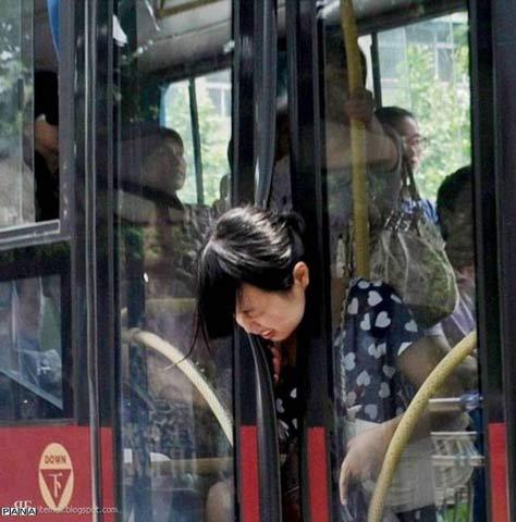 عاقبت زیاد حرف زدن خانمها با تلفن همراه: تصاویر