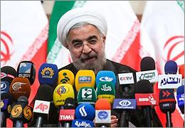 پخش زنده سخنرانی رییس جمهور