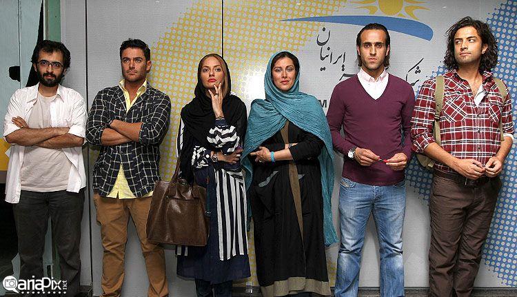 عکسهای گلریزان دهلیز با حضور بازیگران و هنرمندان