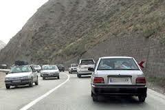 """افزایش۸ درصدی """"تردد جاده ای"""" نسبت به روز قبل /""""پر ترددترین محورهای کشور"""""""