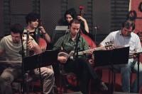 عکسهای تمرین گروه موسیقی «بادبادک» برای اجرای کنسرت