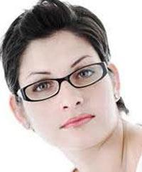 زنان عینکی, آرایش خانمها
