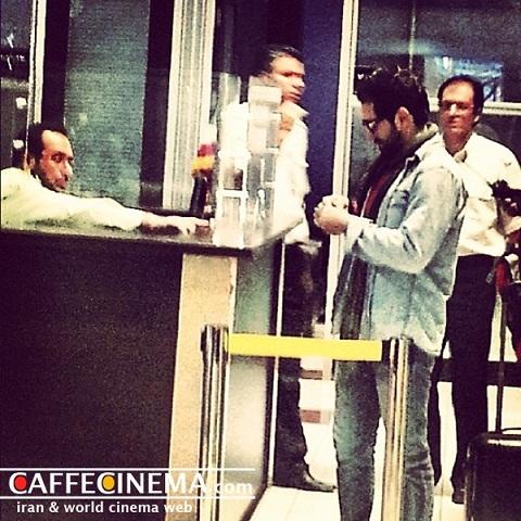 لحظهی بازگشت بهرام رادان پس از ۱۶ ماه به ایران/ عکس
