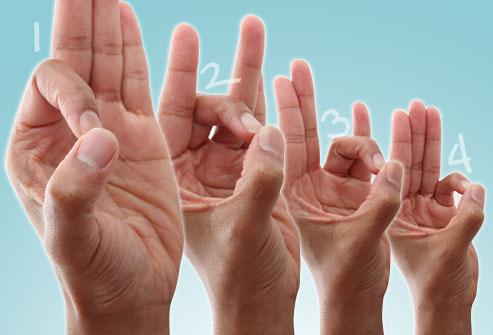 آموزش ورزش انگشتان(تصویری)