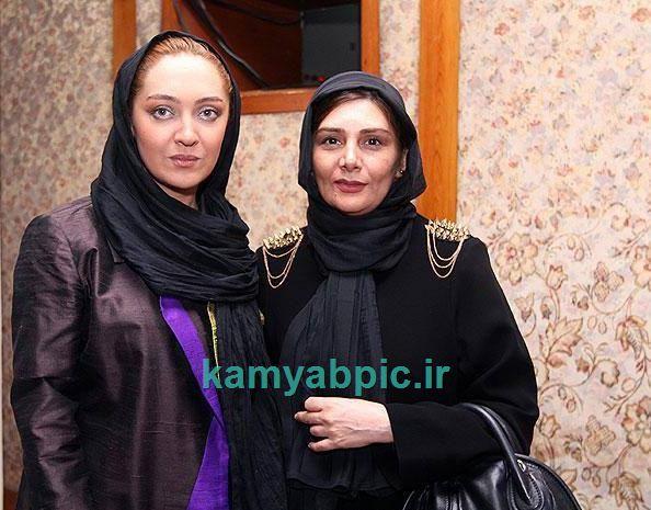 نیکی کریمی و هنگامه قاضیانی در جشن روز ملی سینما