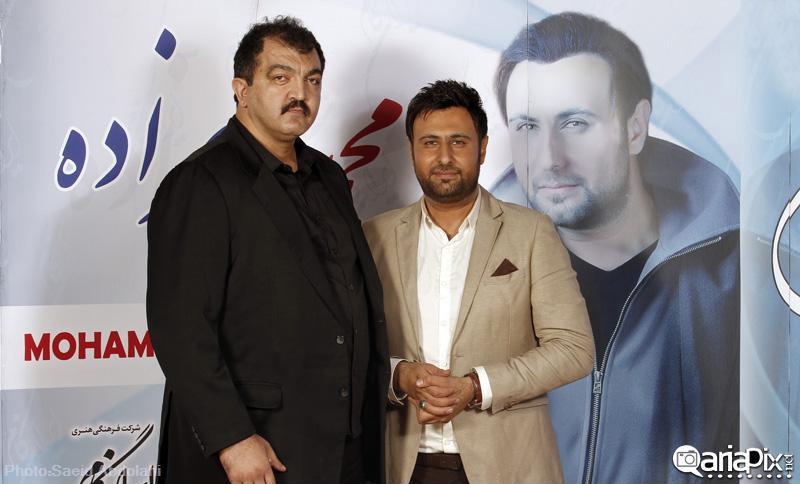 احمد ایراندوست در کنسرت محمد علیزاده