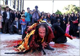 وقفه شش روزه در اجرای عمومی نمایشهای خیابانی شهر تهران