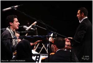 کنسرت همایون شجریان (برای بزرکنمایی تصویر کلیک کنید)