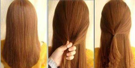 مدل موی ساده و زیبای دخترانه