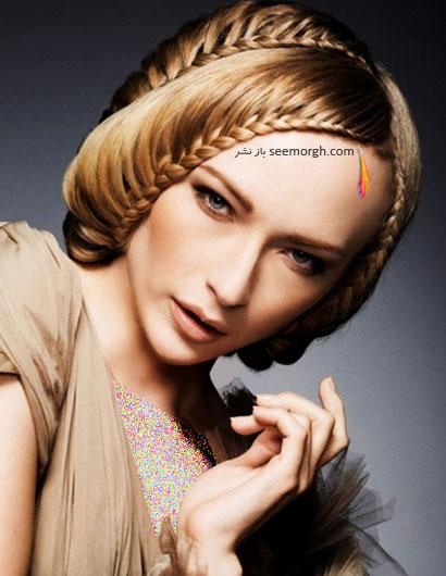 زیباترین مدل های مو با بافت مخصوص دختران جوان