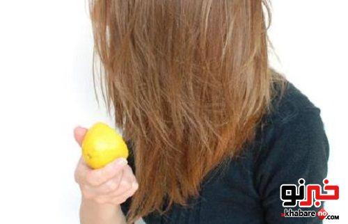 آموزش هایلایت کردن مو به وسیله آبلیمو