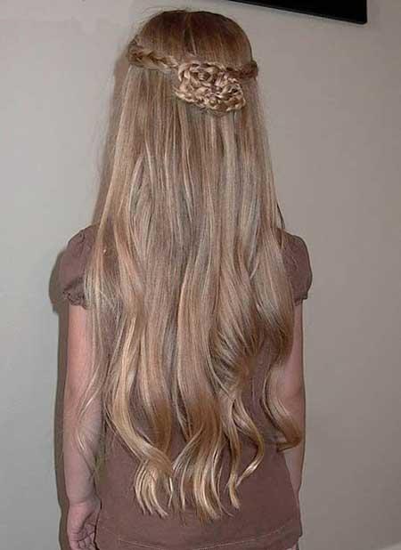مدل موی زیبا و ساده مخصوص دختران خردسال