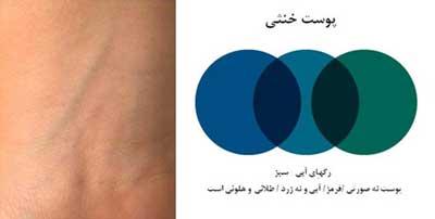 شناختن رنگ پوست برای آرایش مهم است