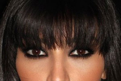 موی مشکی و چشم قهوه ای
