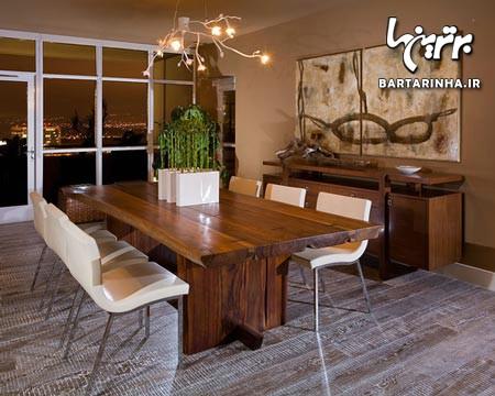 تزئین میز ناهارخوری شیک و زیبا (۱)