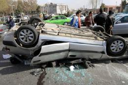 پنج کشته بر اثر واژگونی پژو