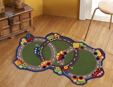 مدل فرش اتاق کودکان