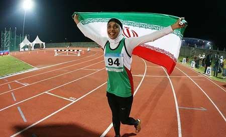 عمل تحسین برانگیز سریع ترین بانوی ایرانی + عکس