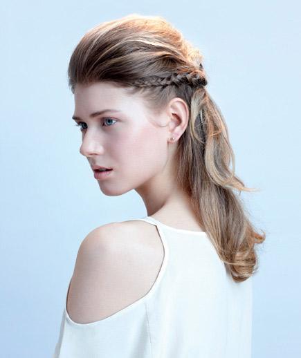 مدل های ساده و جذاب بافت مو