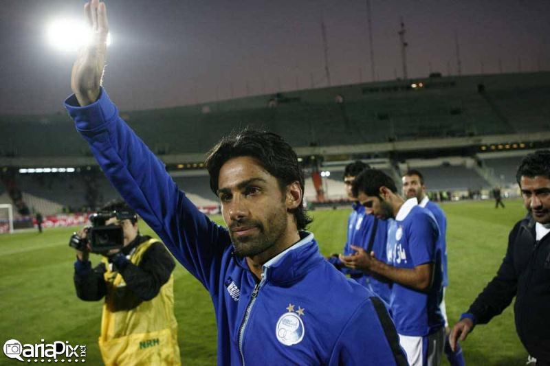 عکسهای خداحافظی فرهاد مجیدی از فوتبال