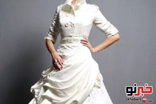 چگونه در لباس عروسی لاغرتر به نظر ؟
