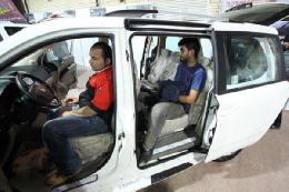 افتتاح نمایشگاه خودرو قزاقستان