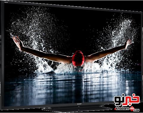 تلویزیون ۹۰ اینچی شارپ به بازار آمد