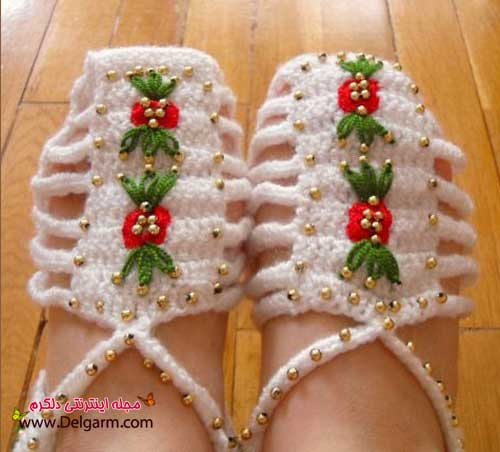 جدیدترین مدل ها از کفش های رو فرشی دخترانه و زنانه