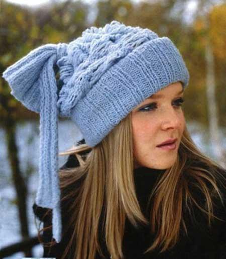 دخترانه ترین کلاه های بافتنی 2013