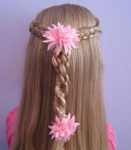 مدل موی شیک دخترانه برای موهای بلند