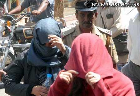مستی 2 دختر ایرانی در هند غوغا به پا کرد + تصویر