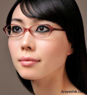 با این آرایش پشت عینک زیباتر دیده شوید