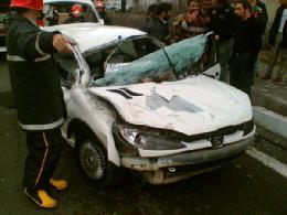 حادثه ای دیگر در اتوبان قم