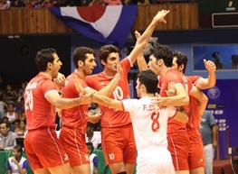 چهارمین پیروزی شاگردان ولاسکو در مسابقات والیبال قهرمانی آسیا/ کره جنوبی هم حریف ایران نشد