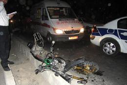 مرگ هولناک ۳ تن در تصادف موتورسیکلت