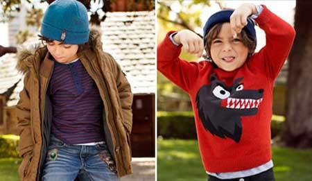 لباس های پاییزی و زمستانی مختص کوچولوها (عکس)
