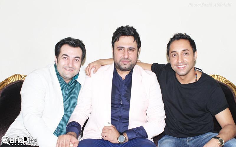 محمد علیزاده,امیرحسین رستمی و امیر جوشقانی (مجری ) / کنسرت محمد علیزاده در بندر عباس